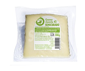 Productos Económicos Alcampo Queso mezcla semicurado 300 g