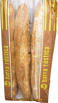 MERCADONA Pan barra rústica 3 barras (750 g)
