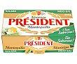Pastilla de mantequilla con sal president 250 g Président