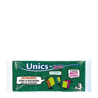 Unics Salvauñas verde 3 ud