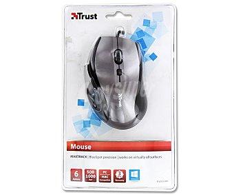 TRUST MAXTRACK MINI Ratón óptico con cable, 6 botones, 1600dpi, conexión Usb