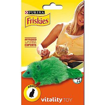 Friskies Purina Juguete para gatos adultos modelo ardilla con sonido Vitality Toy 1 unidad