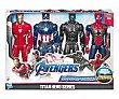 Pack de 4 figuras Titan vengadores  Los vengadores