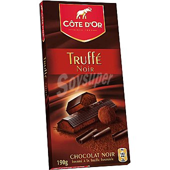 Côte d´Or Chocolate negro relleno de mousse de trufa Tableta 190 g