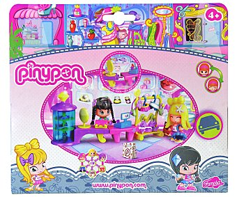 PIN Y PON Mini muñeca más accesorios y escenario tienda de moda, City Boutique 1 unidad