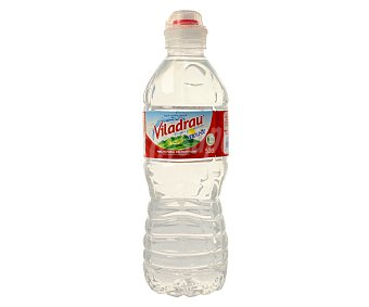 Viladrau Agua mineral natural Botella de 50 centilitros