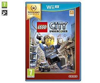 Acción Videojuego Lego City Undercover edición Selects para Nintendo Wii U. Género: acción. Recomendación por edad pegi: +7