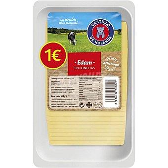 Castillo de Holanda queso edam en lonchas envase 100 g