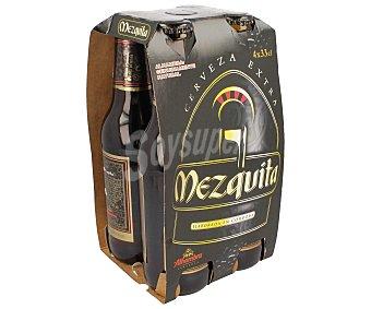 Alhambra Cerveza Mezquita Clustes Pack 4 unidades de 33 centilitros