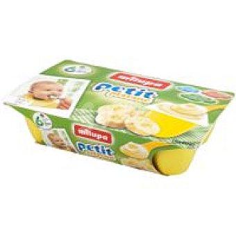 Milupa Petit de plátano Pack 360