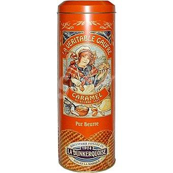 LA DUNKERQUOISE Galleta wafer de mantequilla con caramelo  Lata de 400 g