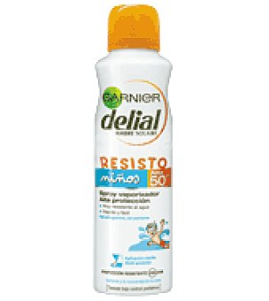 Delial Garnier Solar rápido niños factor de protección 50 150 ml