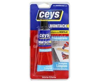 Ceys Adhesivo de Montaje Transparente. 100 Mililitros. Montack 1 Unidad