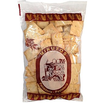 Minutos Regañas artesanas bolsa 220 g Bolsa 220 g