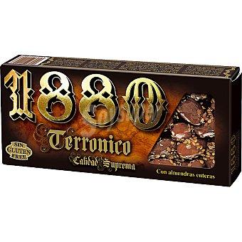 1880 Turrón Terronico con almendras enteras Tableta 200 g