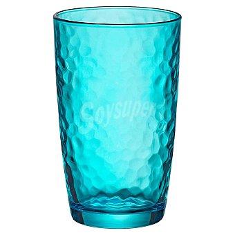 BORMIOLI Palatina Vaso Alto de cristal en color azul  49 cl
