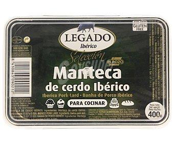 ElPozo Manteca de cerdo ibérico Tarrina 400 g