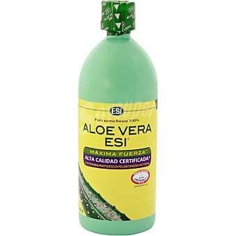 ESI Puro zumo fresco 100% Aloe Vera Frasco 1000 ml