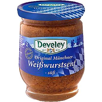 Develey Mostaza dulce de Munich Frasco 200 ml