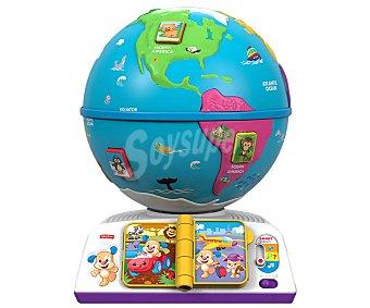 Fisher-Price Globo terráqueo de aprendizaje interactivo con sonidos, música y frases 1 unidad