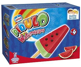 Pirulo Nestlé Polo con forma y sabor a sandía Watermelon 4 x 73 ml