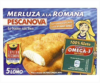 Pescanova Lomos de merluza romana Caja de 300 g