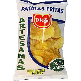 DIEGO patatas fritas artesanas con aceite de oliva  bolsa 220 g