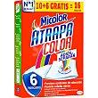 Toallitas atrapa color adios al separar caja 10 unidades 10 unidades Micolor