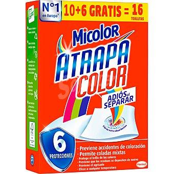 Micolor Toallitas atrapa color adios al separar caja 10 unidades 10 unidades