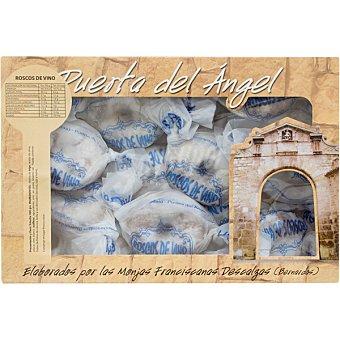 PUERTA DEL ÁNGEL Roscos de vino dulces de convento artesanos estuche 500 g estuche 500 g