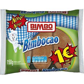 Bimbo Bollo relleno de cacao Bimbocao 3 unidades (paquete 150 g)