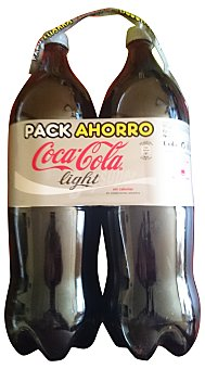 Coca-Cola Light Refresco de cola Pack 2x2,20 litros