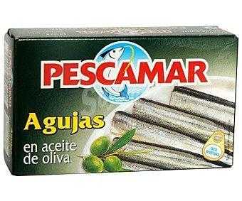Pescamar Agujas en Aceite de Oliva 81 Gramos