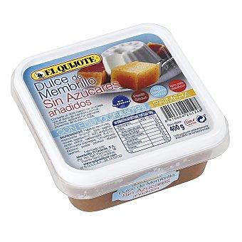EL QUIJOTE Dulce de membrillo sin azucares añadidos tarrina 400 g