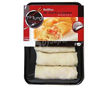 Ta Tung Rollitos rellenos de jamón y queso 240 g