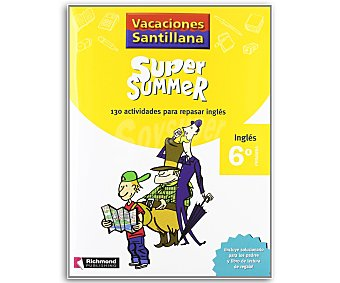 SANTILLANA Super Summer 6 1 Unidad