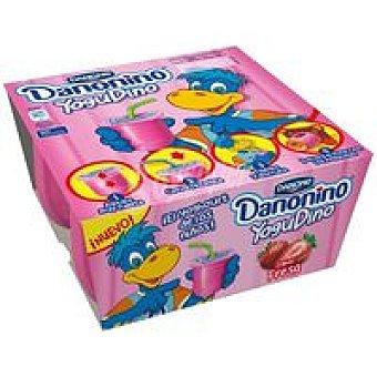 Danone Yogudino de fresa Pack 4x85 g