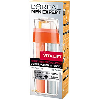 L'Oréal Men Expert Doble acción intensa cuidado hidratante efecto lifting Vita Lift Dosificador 30 ml