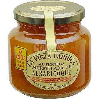 La Vieja Fábrica mermelada de albaricoque sin azúcar frasco 340 g