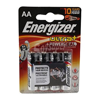 Energizer Pilas LR06 alcalinas 4 ud. 4 ud