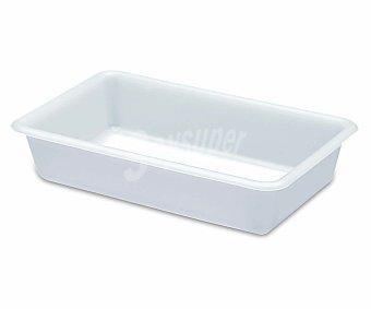ARAVEN Cubeta de plástico blanca, 30x20 centímetros, 2 litros de capacidad 1 Unidad