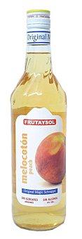 Frutaysol Licor de melocotón sin alcohol Botella 70 cl