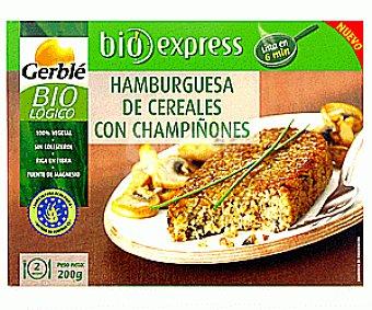 Gerble Hamburguesa de Cereales con Champiñones Ecológico 200g