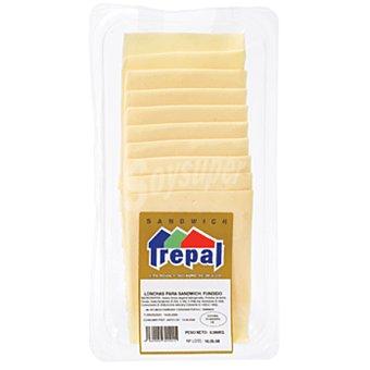 TREPAL Queso lonchas sandwich Envase 160 g