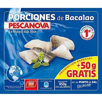 Pescanova Porción de bacalao Bolsa 400 g