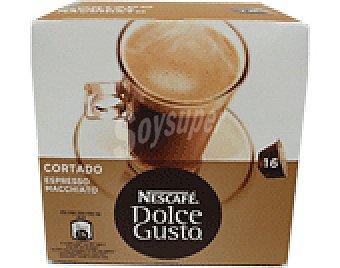 Dolce Gusto Nescafé Café Expreso cortado monodosis 16 cápsulas
