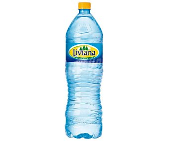 Fuente Liviana Agua mineral de mineralización débil Botella 1,5 l