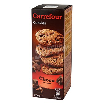 Carrefour Galletas con chocolate 200 g