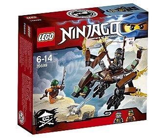 LEGO Juego de construcciones con 98 piezas Dragón de Cole, ref. 70599, incluye 2 figuras Ninjago 1 unidad