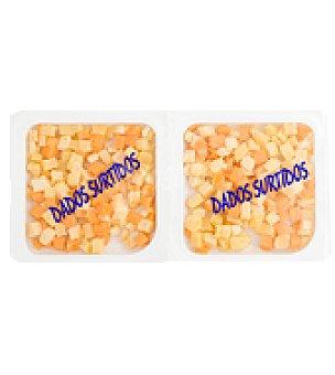 Abrilisto Surtido de dados de queso 2 paquetes de 85 gr.